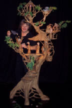 The Twig Family in the Oak Tree Puppet Show by Deborah Costine Puppeteer